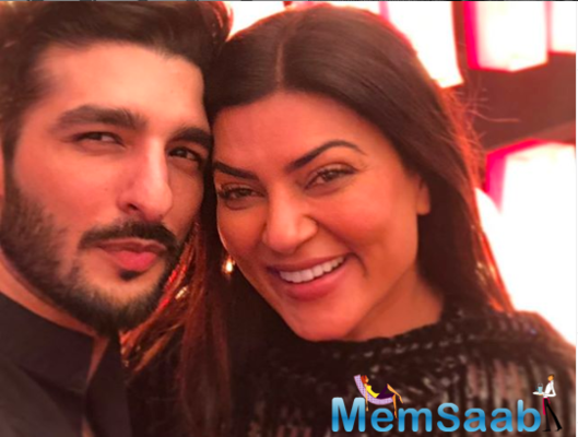 Rohman Shawl: Sushmita Sen beats me all the time, I am a very good boyfriend