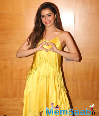 Shraddha is winning hearts definitely as an actress no doubt, but even as a person.