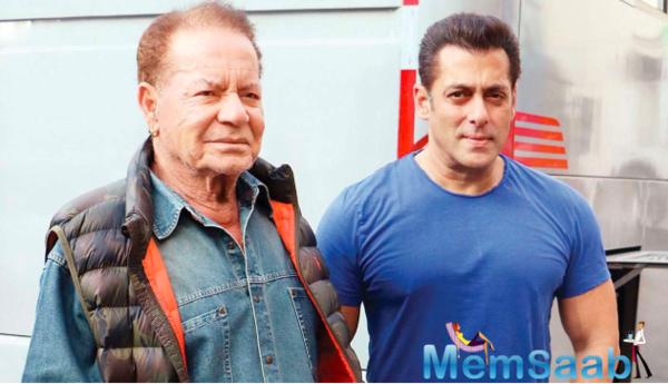 Salman Khan's father Salim Khan admits to taking walks for his health amid coronavirus lockdown