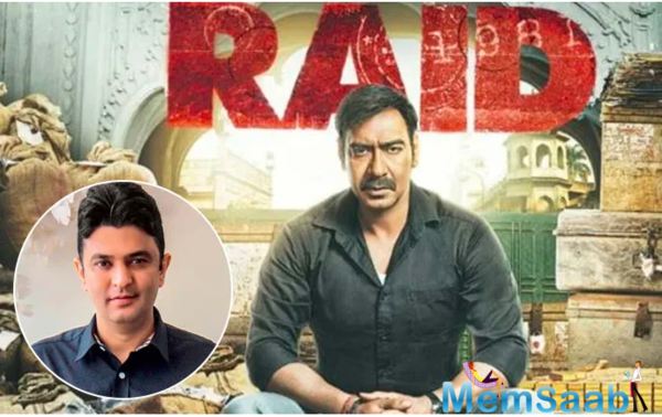 Ajay Devgn and Bhushan Kumar will soon be collaborating on the sequel to Devgn's hit 2018 film, Raid.