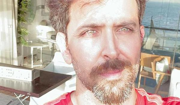 Hrithik shared a sun-kissed selfie of himself, in which he can be seen standing in his balcony
