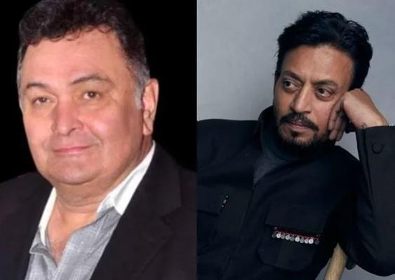 Rishi Kapoor and Irrfan Khan goes viral on the internet with this rare picture