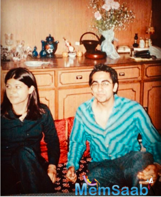Tahira Kashyap Shares A Throwback Picture With Ayushmann Khurrana; From Their First Year Of Dating