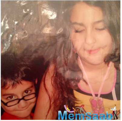 Ibrahim Ali Khan treats fans with priceless throwback picture featuring sis Sara Ali Khan
