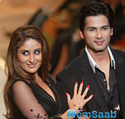 Shahid and Bebo had earlier romanced in 'Fida' and '36 China Town'.