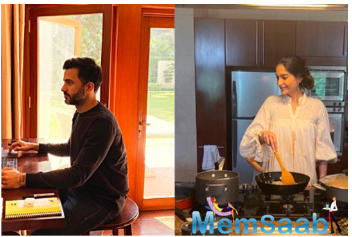 Sonam Kapoor shares snapshots of quarantine with Anand Ahuja