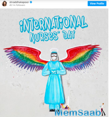 International Nurses Day: Shraddha Kapoor requests everyone to help migrants who are trying to get back home