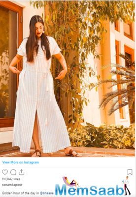 Breezy Summer Day: Sonam Kapoor looks perfect in this outfit
