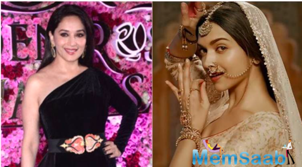 Madhuri Dixit: Deepika also carries these larger than life kind of roles very well