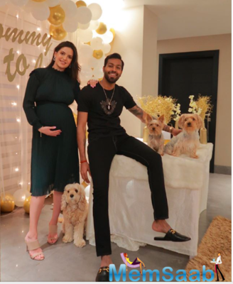 Hardik Pandya and Natasa Stankovic had been dating for a while but the couple made it official by announcing their engagement on social media on New Year's Day 2020.