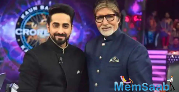 Ayushmann Pens a note on working with Amitabh Bachchan
