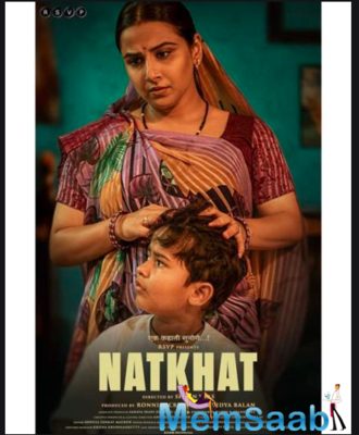 This film is directed by Shaan Vyas and produced by Ronnie Screwvala and Vidya Balan.