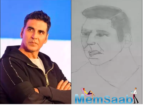 Akshay Kumar feels 'honoured' as a 10-year-old boy makes his first ever sketch and chooses the actor