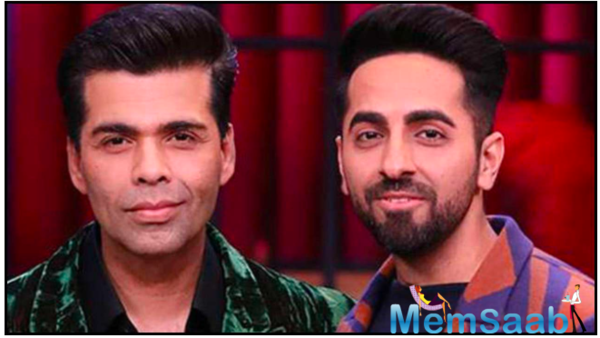 When Karan Johar told, 'we only work with stars, can't work with you' to Ayushmann Khurrana