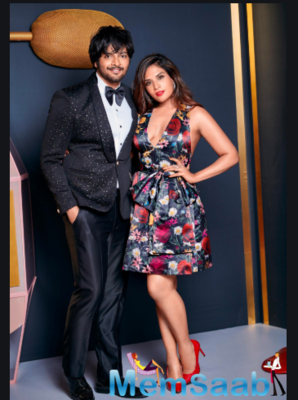 She may be poised in front of the camera, but Fazal reveals it was her clumsiness that stole his heart.