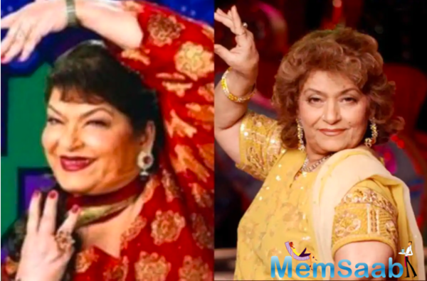 Saroj Khan shot to fame in the late eighties, choreographing Sridevi superhits such as
