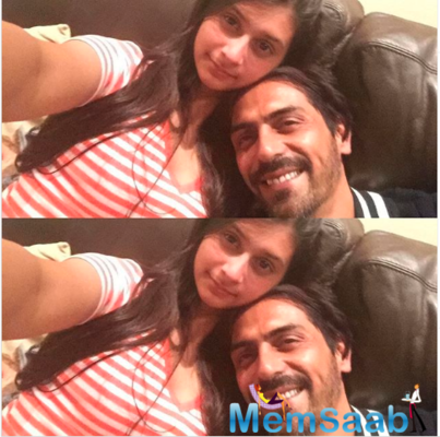 Arjun Rampal congratulates daughter Mahikaa for outstanding performance in her exams!