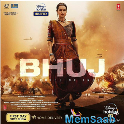 Bhuj: The Pride of India - Sonakshi Sinha's first look from the film is out!
