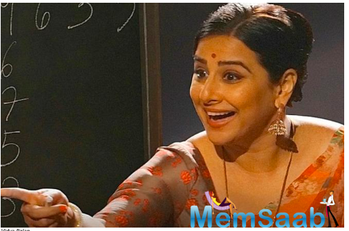 Vidya Balan revisits a school trick for Shakuntala Devi role