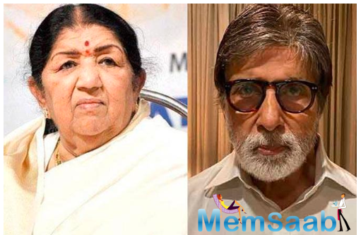 Lata Mangeshkar: It's hard to believe the virus has struck Amitabh Bachchan and his family