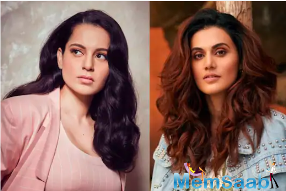 Talking about the statement, Taapsee Pannu now has a befitting reply. Furthermore, she has accused Kangana Ranaut of taking advantage of Sushant Singh Rajput's death.