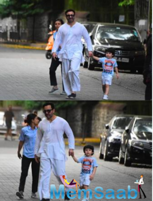 Saif Ali Khan has a befitting reply on being trolled for not wearing masks