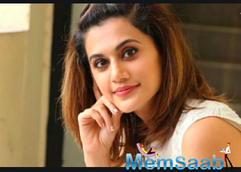Reacting to Kanika's tweet, Taapsee shared: