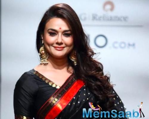 Preity Zinta resumes shooting amid pandemic