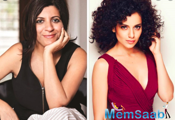 Zoya Akhtar wonders why Kangana Ranaut 'is now only talking awards all the time'