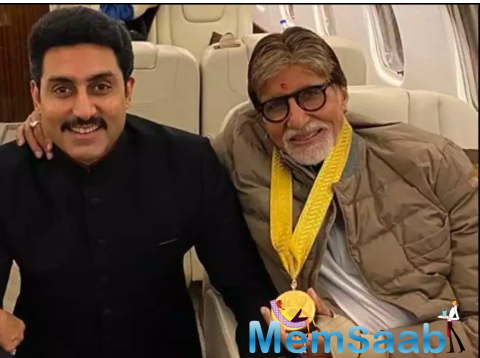 Abhishek Bachchan hits back at troll making fun of him and his father Amitabh Bachchan battling COVID-19