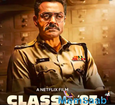 Class of '83 Trailer: Bobby Deol brings the class to order in this gritty cop drama