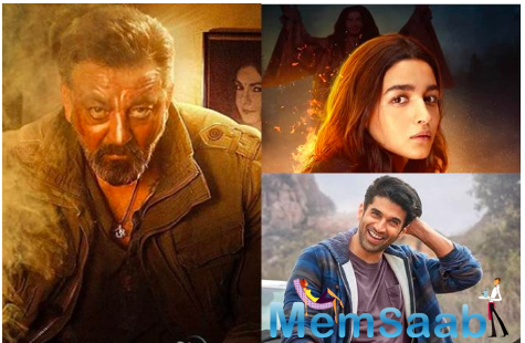 And taking to her Instagram account, Alia Bhatt shared three new posters of the film that featured her, Sanjay Dutt, and Aditya Roy Kapur.