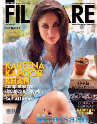 Kareena Kapoor Khan flaunts Saif Ali Khan's shirts in latest photoshoot, thanks him for his photography skills