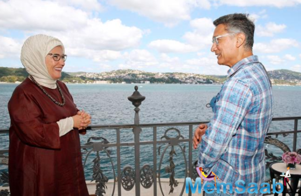 Aamir Khan meets the Turkish first lady Emine Erdogan
