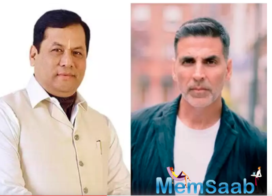 CM Sarbananda Sonowal thanks Akshay Kumar for donating Rs 1cr towards Assam flood relief