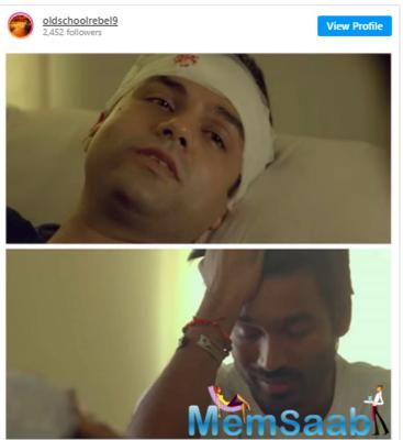 The film in question is Aanand L Rai's Raanjhanaa, also starring Dhanush and Sonam Kapoor Ahuja.