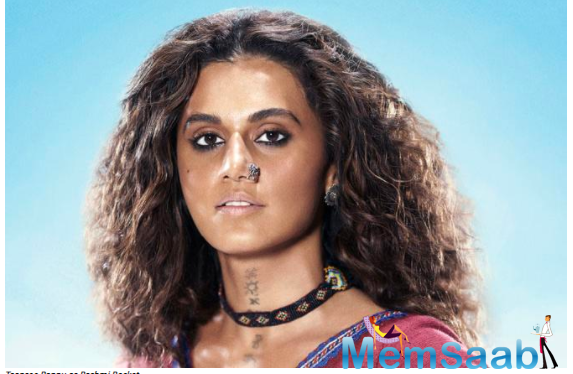 Taapsee will be joined by Extraction fame Priyanshu Painyuli in a prominent role in the film.