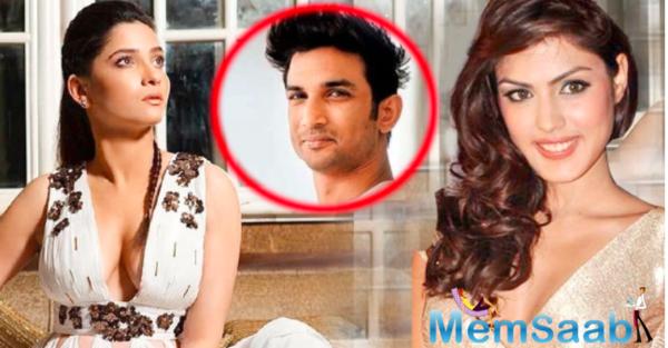 Ankita Lokhande quashes Rhea Chakraborty's claim, Says Sushant Singh Rajput never had depression