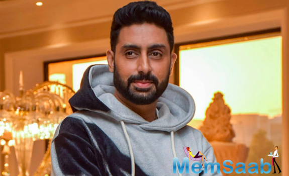 Abhishek Bachchan shares his new look as he gears up to get back to work