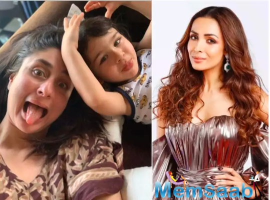 Malaika Arora's comment on BFF Kareena Kapoor Khan's post reveals Taimur's favourite sweet