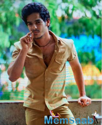 Ishaan Khatter shares pics of first look test for Khaali Peeli