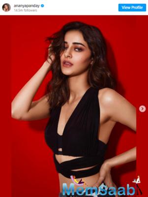 Ananya Panday raises glamour quotient during 'Khaali Peeli' promotions
