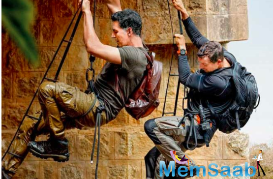 When Akshay Kumar sustained injuries while climbing a rope ladder on bear grylls show