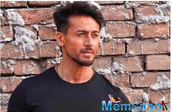 Tiger Shroff sets the countdown for his debut track as a singer