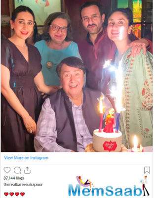 See pics: Kareena Kapoor Khan's 40th birthday bash was a complete family affair