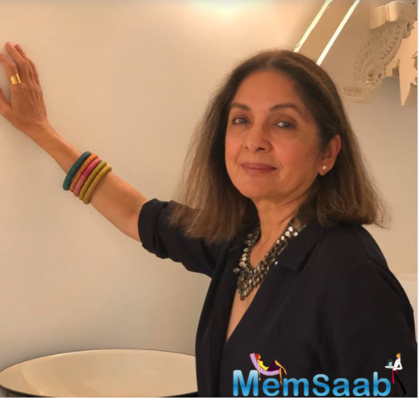 Neena Gupta dolls up for at-home photoshoot; her relatable caption wins over the Internet