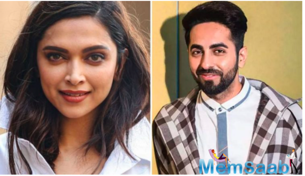 Deepika Padukone praises Ayushmann Khurrana for his memorable films and iconic characters