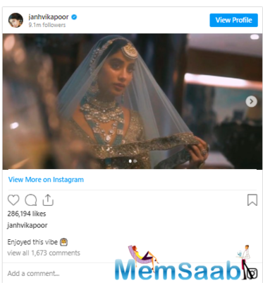 Janhvi Kapoor is the picture of perfection in this refreshing bridal avatar