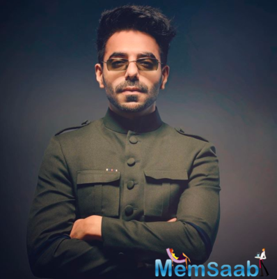 Aparshakti expressed that he wants one of his songs to be used in a film.