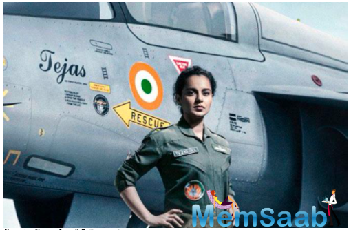 Air Force Day: Kangana Ranaut extends greetings on behalf of team tejas